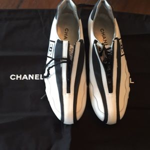 Chanel tennis shoes Rare New